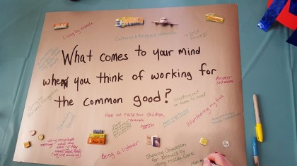 World cafe - common good