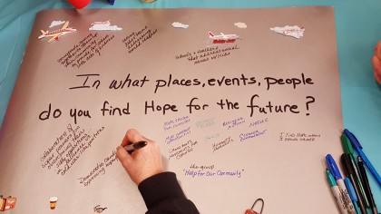 world cafe hope for the future